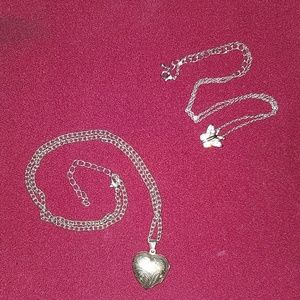 Jewelry - Sterling silver necklace bundle